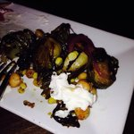 Brussel sprouts with goat cheese