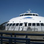 Front view of the ferry