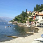 Nearby Varenna and the ferry to Bellagio.
