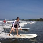 7th-grader Logan is SHREDDING some waves by the end of his very first lesson with Bodhi Surf!
