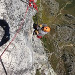 Hanging off  of Table Mountain