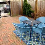 Private Patio for Pear Tree Suite