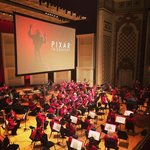 The Cincinnati Pops and Pixar music.