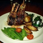 Whole or half rack of lamb. Seasonal special, served on Sundays