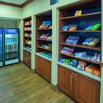 Need a quick meal or a midnight snack?   Our Suite Shop is stocked and open 24 hours.