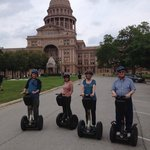 Cline and Johnson Segway Gang!