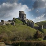 Corfe Castle, nearby