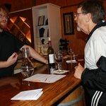 Joey sharing his expertise @ the Silver Coast Winery, NC.