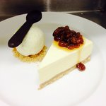Rum & Raisin Cheesecake