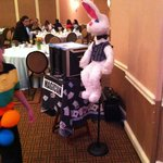 Entertainment for kids Tom the Magician  very good Easter Buffet