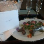 my birthday surprise from the westin
