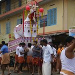 Views of the festival to the God Devi (sic)...