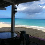Beach and ocean view at Beach Side Cafe