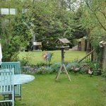 Rear garden - view from dining room