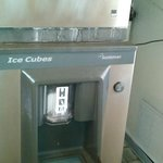 Another view of the ice-maker
