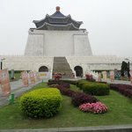 Chiang Kai-Shek Memorial, under 15 minutes walk away.