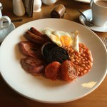 The Full English set me up for the day!