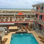 OUR NEW POOL AND SUNDECK WITH VIEW