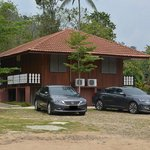 chalet type, 1 chalet have 4 separate rooms