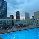Heated Rooftop pool