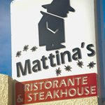 Mattina's Logo Outside