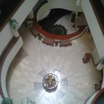 View of lobby from third floor