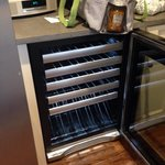 Wine cooler-nice added touch!