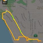 Hiking map Aliso Park-Ritz Carlton-Dana Point boardwalk-Compass-Dana Point Bluff Top trail to ha