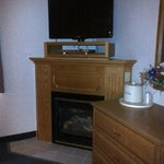 Upgrade to a Room with a Gas Fireplace!