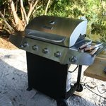 Nagelneuer Barbeque-Grill