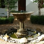Pretty fountain.