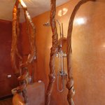 Lovely and unusual shower in the Orange Suite