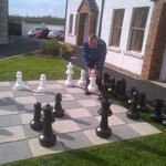 Ulster Cottages outdoor chess 2