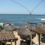 Breakfast at the Punta Mita restaurant