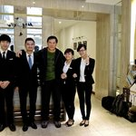 Some of the very friendly and efficient staff of Hanoi Moment. Good job.
