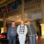 Wissam S. AlRashied, Muhanid, and Hassanen @ PADOVA Hotel 2011