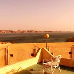Sunset outlook over Lake Nasser