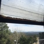 Deteriorated seals have cause water to accumulate between panes and mold to grow