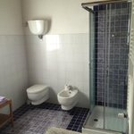 Other side of the bathroom-bright, clean, modern, spacious