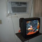 TV and window AC