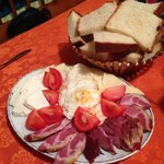 fresh eggs and home made bread