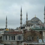 Blue Mosque view from Artefes Roof