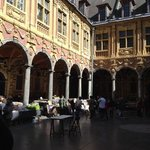 Lovely book fair at Grand Place.