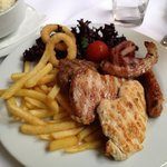 Mixed Grill in Hotels restaurant