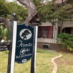 Front of Friendly Oaks B & B