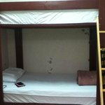 room with double deck
