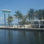 canal and ocean front rv sites