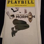 Book of Mormon Playbill