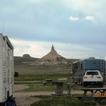 Breathtaking view of Chimney Rock