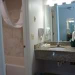 Bathroom & separate vanity